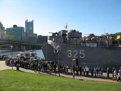 US Navy's WWII Veteran landing ship LST 325