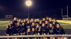Keystone Oaks cheerleaders