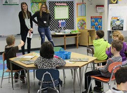 High School Students Lead Lessons at Aiken's Annual Junior Achievement Day