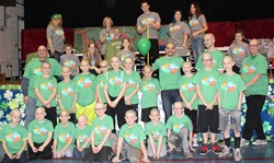 Aiken Elementary Students Shave Heads for Childhood Cancer Research