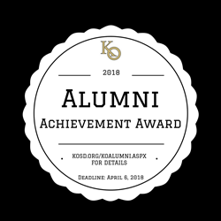 Alumni Achievement Award Deadline