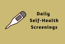 Daily Self-Health Screenings: Important Details for the 2020-2021 School Year