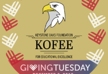 Support Keystone Oaks' education foundation with an end-of-year-donation