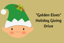 """Golden Elves"" Holiday Giving Drive to Benefit District Families"