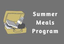 Summer Meals Program: Distribution Sites & Times