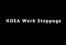 Work Stoppage