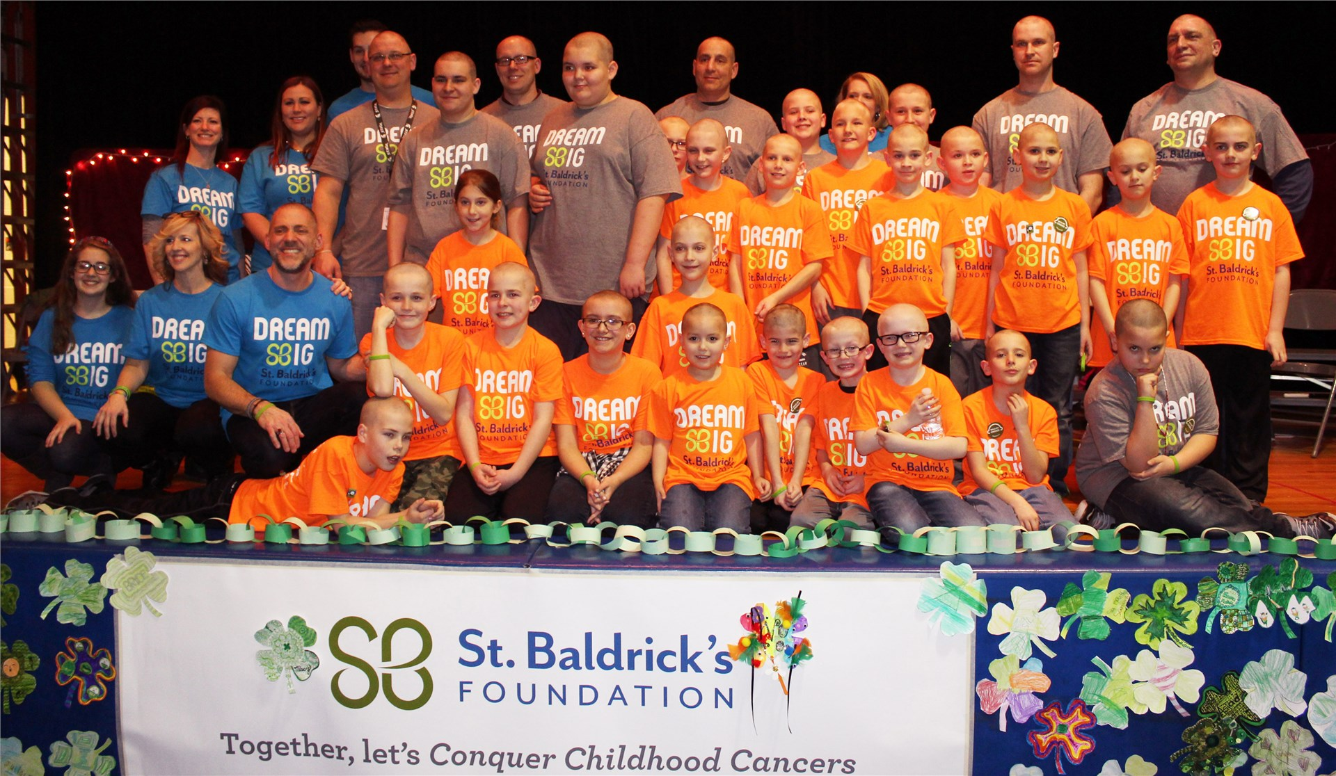 Aiken Elementary hosts an annual head-shaving event to raise money for the St. Baldrick's Foundation