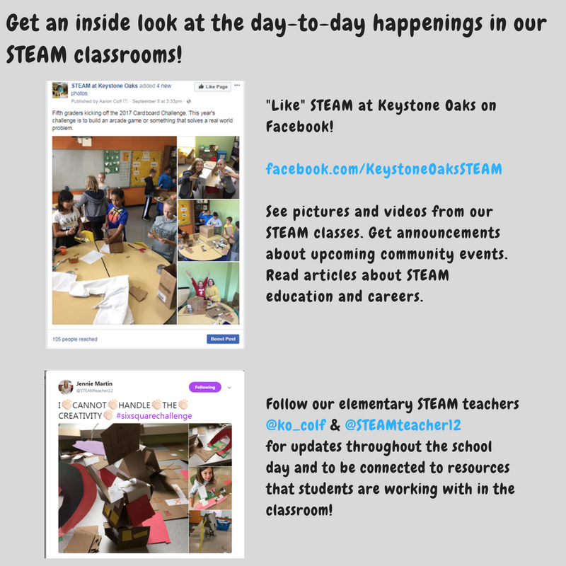 STEAM Social Media Accounts