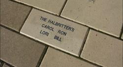Stadium brick pavers